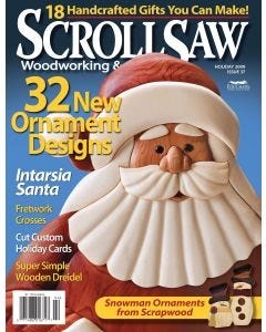 Scroll Saw Woodworking & Crafts Issue 37 Holiday 2009