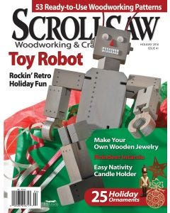 Scroll Saw Woodworking & Crafts Issue 41 Holiday 2010