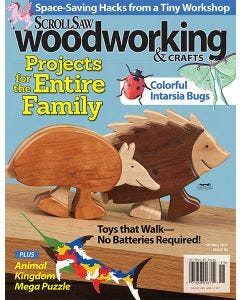Scroll Saw Woodworking & Crafts Issue 81 Winter 2020 - Projects for the Entire Family