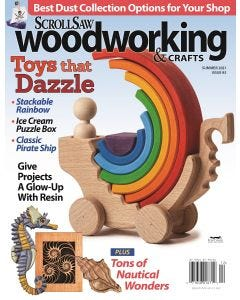 Scroll Saw Woodworking & Crafts Magazine - Don't Miss a Single Issue with our best offer - a 2 year subscription with 36% off the cover price!