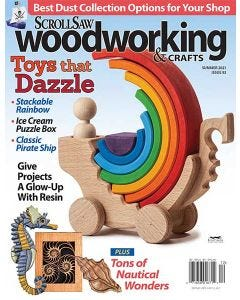 Scroll Saw Woodworking & Crafts Issue 83 Summer 2021