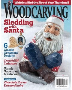 Woodcarving Illustrated Issue 93 Winter 2020