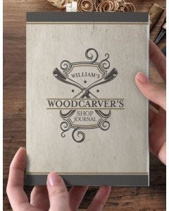Woodcarver's Shop Journal Customized