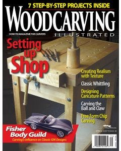 Wood Carving Illustrated Issue 38 Spring 2007