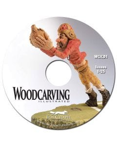 Woodcarving Illustrated Archive CD Volume 1