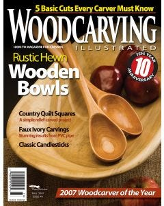 Woodcarving Illustrated Issue 40 Fall 2007