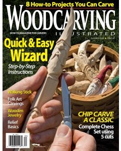 Woodcarving Illustrated Issue 43 Summer 2008