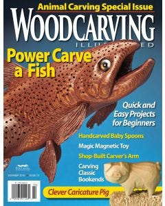 Woodcarving Illustrated issue #51 - Summer 2010
