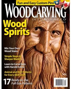 Woodcarving Illustrated Issue 55 Summer 2011