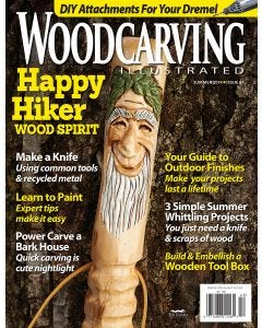 Woodcarving Illustrated Issue 67 Summer 2014