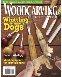 Woodcarving Illustrated Issue 70 Spring 2015