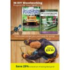 36 DIY Woodworking Projects for Your Yard - Time to plan and get your yard ready for spring! Save 25% & Build an Amazing Backyard! - ONLY $29.99