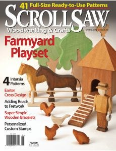 Scroll Saw Woodworking & Crafts Issue 38 Spring 2010
