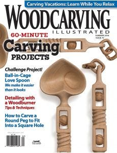 Woodcarving Illustrated Issue 75 Spring Summer 2016