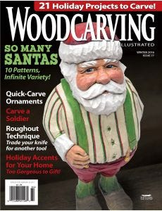 Woodcarving Illustrated Issue 77 Fall Holiday 2016