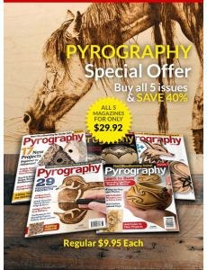 Pyrography Magazine Back Issue Offer
