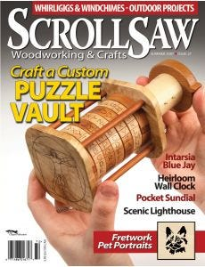 Scroll Saw Woodworking & Crafts - Issue 27 - Summer 2007
