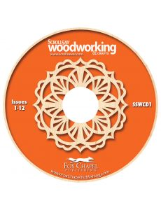 Scroll Saw Woodworking & Crafts Archive CD Volume 1