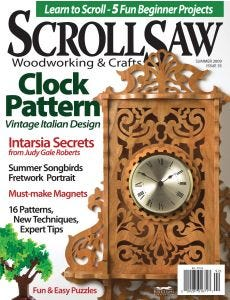 Scroll Saw Woodworking & Crafts Issue 35 Summer 2009