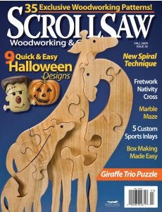 Scroll Saw Woodworking & Crafts Issue 36 Fall 2009