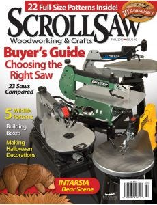 Scroll Saw Woodworking & Crafts Issue 40 Fall 2010