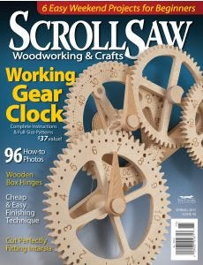 Scroll Saw Woodworking & Crafts Issue 42 Spring 2011