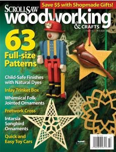Scroll Saw Woodworking & Crafts Issue 45 Holiday 2011