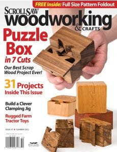 Scroll Saw Woodworking & Crafts Issue 47 Summer 2012