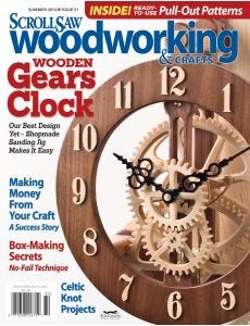 Scroll Saw Woodworking & Crafts Issue 51 Summer 2013
