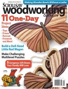 Scroll Saw Woodworking & Crafts Issue 54 Spring 2014