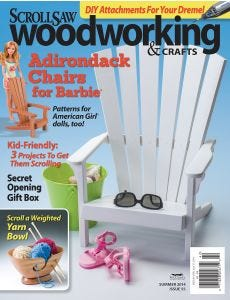Scroll Saw Woodworking & Crafts Issue 55 Summer 2014