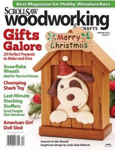 Scroll Saw Woodworking & Crafts Issue 57 Holiday 2014