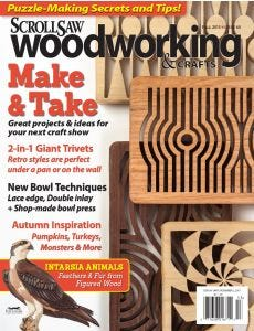 Scroll Saw Woodworking & Crafts Issue 60 Fall 2015