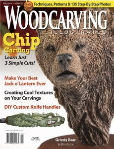 Woodcarving Illustrated Issue 72 Fall 2015