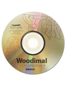 Woodimals CD Collection 4 - Fish and Marine Life