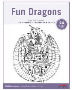 Fun Dragons Pattern Pack By Lora S. Irish