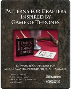 Game of Thrones Coaster Patterns (Download)