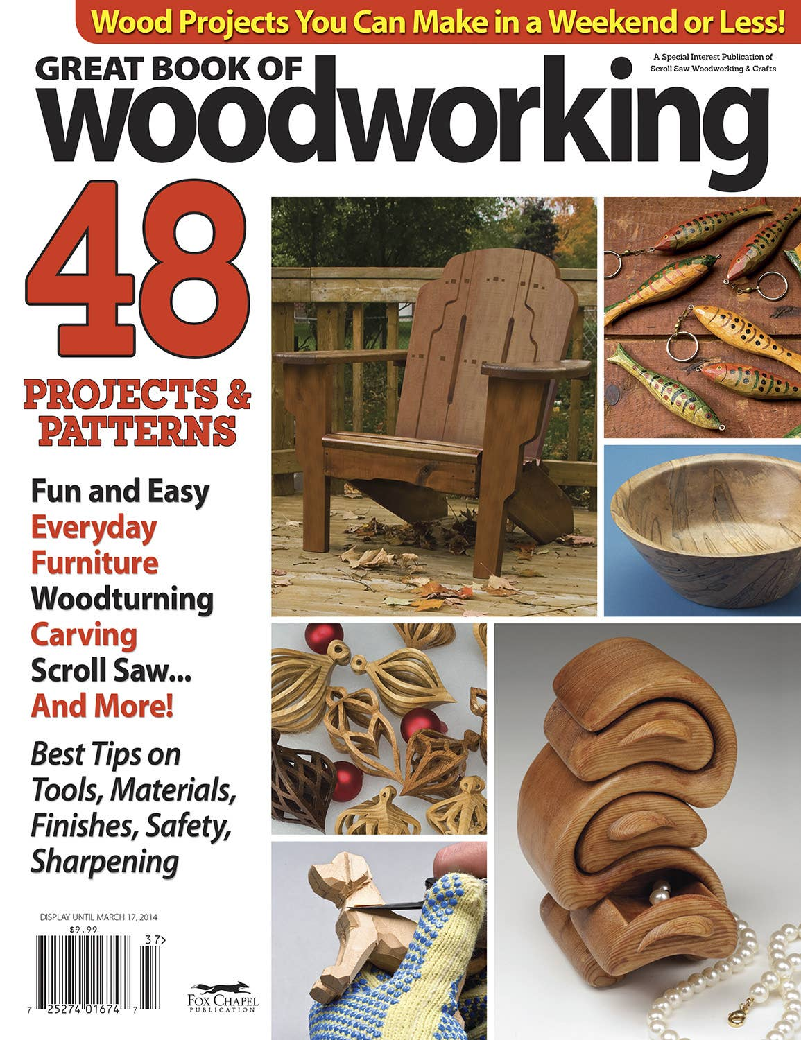 Great Book Of Woodworking Patterns 2013 Fox Chapel Publishing
