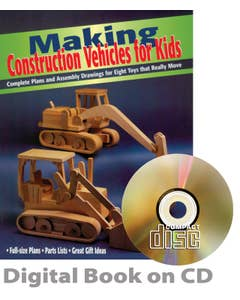 Making Construction Vehicles for Kids (CD)