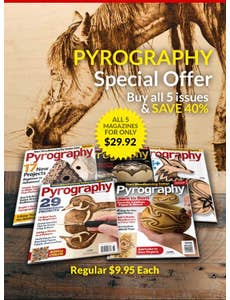 Pyrography Back Issue Offer