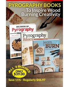 Pyrography Books to Inspire Wood Burning Creativity