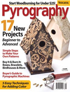 Pyrography 2012 Special Issue -17 New Projects Beginners to Advanced