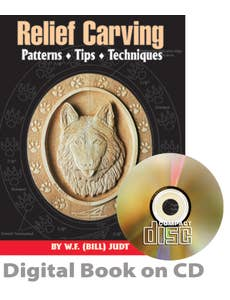 Relief Carving Patterns, Tips, Techniques (CD)