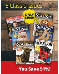 Scroll Saw Magazine Collectors Pack
