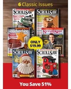 Scroll Saw Magazine Collectors Pack 2021
