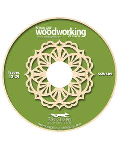 Scroll Saw Woodworking & Crafts Archive CD Volume 2