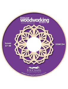 Scroll Saw Woodworking & Crafts Archive CD Volume 4