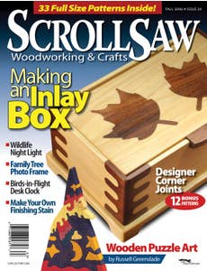 Scroll Saw Woodworking & Crafts Issue 24 Fall 2006