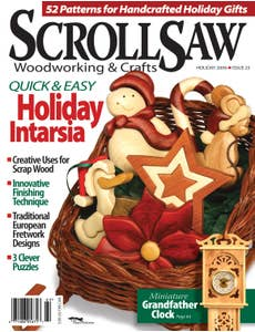 Scroll Saw Woodworking & Crafts Issue 25 Holiday 2006