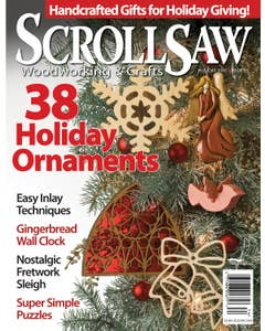 Scroll Saw Woodworking & Crafts Issue 29 Holiday 2007